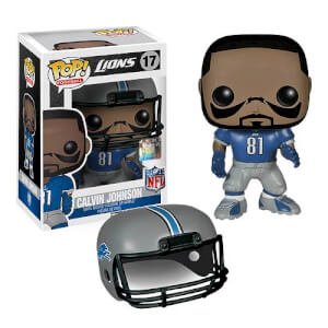Figurine Funko Pop! NFL Calvin Johnson 1ère Vague