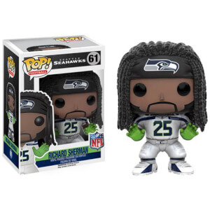 Figura Pop! Vinyl Richard Sherman Ronda 3 - NFL
