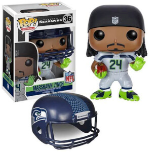Figura Pop! Vinyl Seattle Seahawks Marshawn Lynch Ronda 2 - NFL