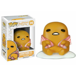 Sanrio Gudetama with Bacon Funko Pop! Figuur