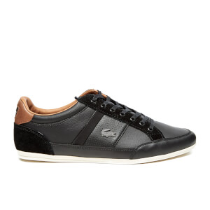 Lacoste Men's Chaymon Prm2 Us SPM Trainers - Black/Black