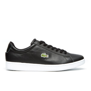 Lacoste Men's Carnaby Evo LCR SPM Trainers - Black