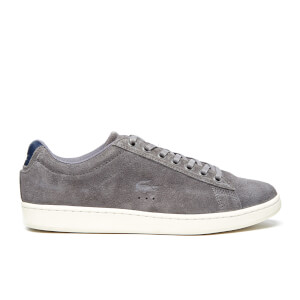 Lacoste Men's Carnaby Evo 4 SRM Trainers - Grey