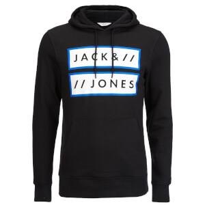 Jack & Jones Men's Core Submit Hoody - Black
