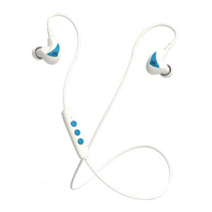 Mixx Memory Fit 2 Wireless Earphones - White