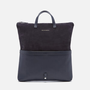 WANT Les Essentiels de la Vie Men's Peretola Foldable Tote Bag - Navy