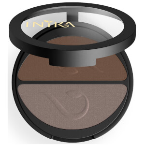 INIKA Pressed Mineral Eyeshadow Duo – Choc Coffee