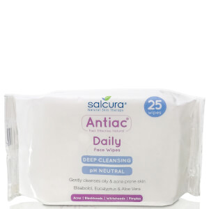 Salcura Antiac Daily Face Wipes (25 Tücher)