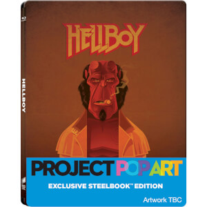 Hellboy (POP ART STEELBOOK) - Zavvi UK Exclusive Limited Edition Steelbook (Limited to 500 Units)