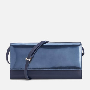 WANT Les Essentiels de la Vie Women's Bradshaw Continental Wallet With Strap - Blue Pearl/True Blue