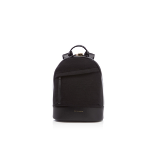 WANT Les Essentiels de la Vie Women's Mini Piper Backpack - Black Crepe/Jet Black