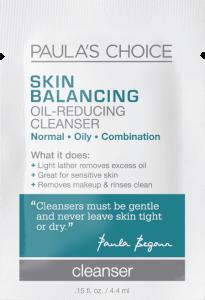 Paula's Choice Skin Balancing Oil-Reducing Foam Cleanser Free Gift (Sample)