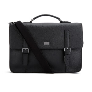 Ted Baker Men's Pebble Grain Satchel - Black