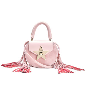 SALAR Women's Mimi Fringe Bag - Rosa
