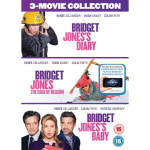 Bridget Jones's Diary/Bridget Jones: The Edge Of Reason/Bridget Jones's Baby Boxset (Includes Ultraviolet Copy)