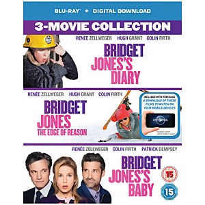 Bridget Jones's Diary/Bridget Jones: The Edge Of Reason/Bridget Jones's Baby Boxset