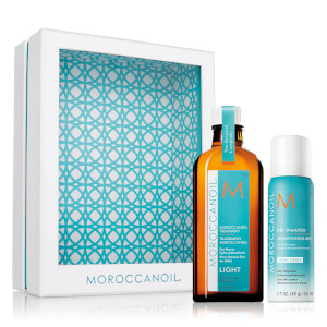 Moroccanoil Home and Away Light Set - Light (Worth £36.55)
