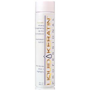 Liquid Keratin Infusing Brightening De-Frizz Conditioner (8oz)