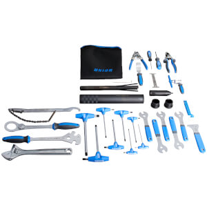 Unior Pro Bike Tool Kit - 37 Pieces
