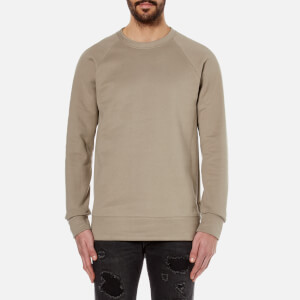Helmut Lang Men's Oversized Crew Neck Sweatshirt - Nomad