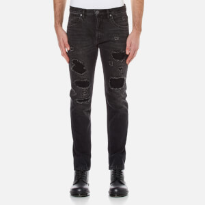 Helmut Lang Men's Mr 87 Destroyed Jeans - Black