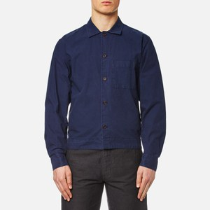 Universal Works Men's Uniform Shirt - Indigo