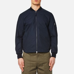 Universal Works Men's Uw/Ma1 Jacket - Navy