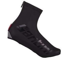 Santini Wall Aero Waterproof Overshoes - Black