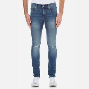 Cheap Monday Men's Tight Skinny Fit Jeans - Serene Blue