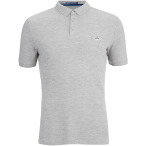 Le Shark Men's Byland Short Sleeve Polo Shirt - Light Grey Marl