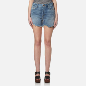 J Brand Women's Ivy High Rise Shorts - Wrecked