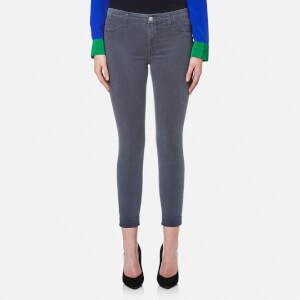 J Brand Women's Anja Clean Cropped Luxe Sateen Jeans - Seaway