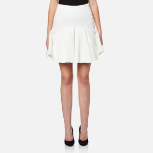C/MEO COLLECTIVE Women's No Competition Flared Skirt - Ivory