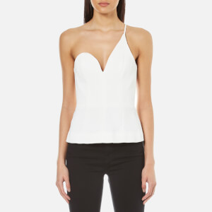 C/MEO COLLECTIVE Women's No Competition One Strap Top - Ivory