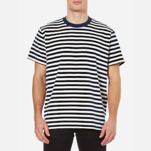 Our Legacy Men's Velour Box T-Shirt - Navy/White