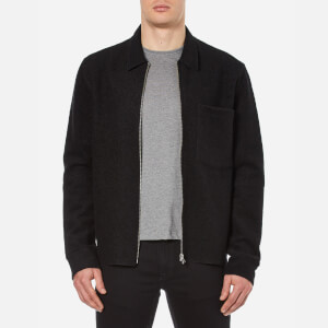 Our Legacy Men's Raw Edge Zip Jacket - Black