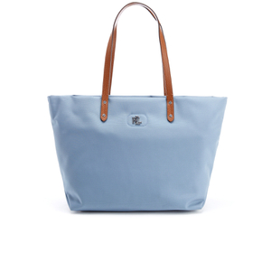 Lauren Ralph Lauren Women's Bainbridge Nylon Tote Bag - Blue Mist