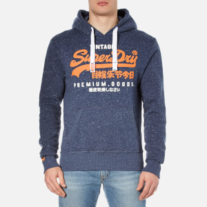 Superdry Men's Premium Goods Duo Hoody - Nautical Navy Grit