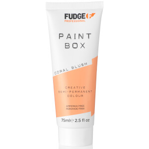 Fudge Paintbox Hair Colourant 75ml - Coral Blush