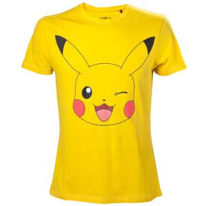 Pokémon Pikachu Winking T-Shirt - L