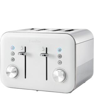 Breville VTT687 High Gloss 4 Slice Toaster - White