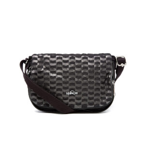 Kipling Women's Earthbeat Small Cross Body Bag - Weaving Black