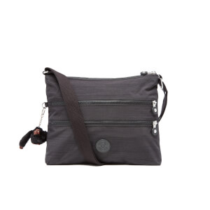 Kipling Women's Alvar Medium Cross Body Bag - Dazz Black