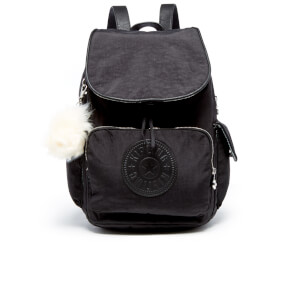Kipling Women's City Pack Backpack - Black Padded