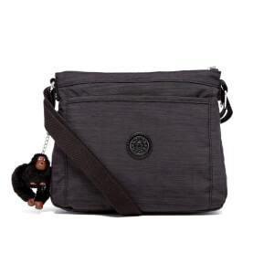 Kipling Women's Moy Creativity S Duo Small Cross Body Bag - Dazz Black