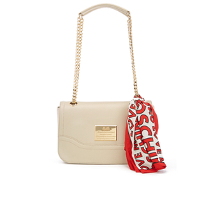Love Moschino Women's Shoulder Bag - Cream