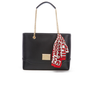 Love Moschino Women's Chain Tote Bag - Black