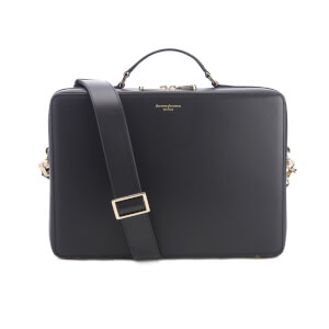 Aspinal of London Dover Street Smooth Bag - Black