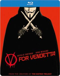 V pour Vendetta Steelbook