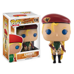 Street Fighter Cammy Funko Pop! Figuur